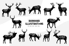 Reindeer Illustrations Product Image 1