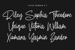 Jetha Crimson Signature Brush Font Typeface Product Image 5