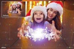 Christmas overlay & Sparkler overlay, Photoshop overlay Product Image 5
