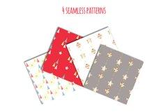 Lama Christmas set, Scandi style Product Image 2