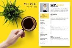 Legal Resume CV Template for Word & Pages Cora Bailey Product Image 2