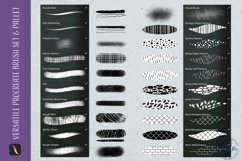 39 Versatile Procreate Brushes - Tool kit Product Image 2