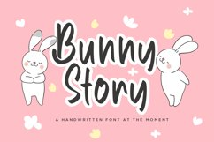 Bunny Story Handwritten Font Product Image 1