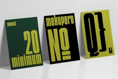 Qanungo - Condensed Font Product Image 4