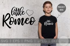 Cuter than Cupid and Little Romeo | Kids Valentines Day SVG Product Image 1