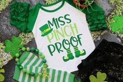 Miss Pinch Proof - St Patrick's Day SVG Product Image 1