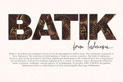 BATIK WORLDWIDE Product Image 3