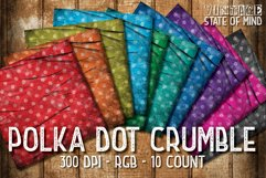 Crumbled Polka Dots Digital Papers Product Image 1