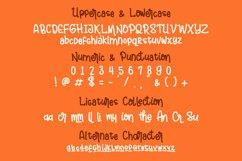 """Andalusya - """"Plus Doodle Bonus"""" // Web Font Product Image 3"""