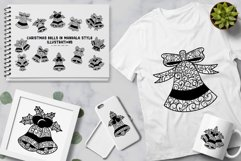 Christmas Bells In Mandala Style illustrations Product Image 2