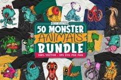 280 Cartoon Mega Bundle Sublimation, Animals Vector pack Product Image 4
