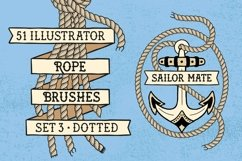 Sailor Mate's Rope Brushes III - Dots Product Image 1