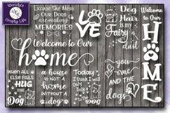 Dog SVG - Dog Lover Bundle - 9 SVG & PNG & 6 bonus PDFs Product Image 2