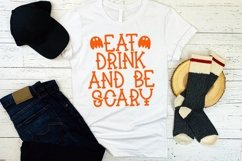 Web Font Booyah - A Hand-Lettered Halloween Font Product Image 2