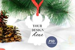 Christmas Angel Ornament Mockup PSD, Angel Ornament Mockup Product Image 1