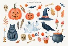 Happy Halloween watercolor set Product Image 2