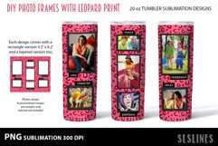 Skinny Tumbler Sublimation - Leopard Print Photo Frames Product Image 8