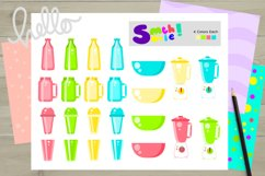 Fruits and Smoothies Clipart Product Image 2