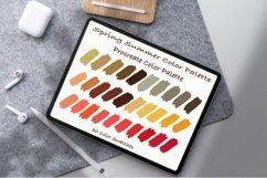 Spring Summer Color Palette, Pantone color ,Procreate Palett Product Image 1