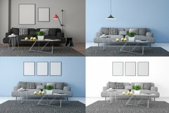 10 Images 3D Interior Room Mockup Bundle Vol 4 Product Image 3