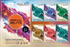 Minimal Beats Photoshop Flyer Template Product Image 1