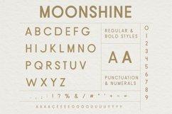Moonshine Font   A Classic Sans Serif Product Image 5