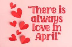 April Love - Handwritten Font Product Image 5