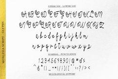 Monlesia Script Product Image 4
