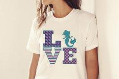 Mermaid Love Sublimation Design Product Image 2