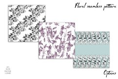 Spring digital paper, lilies flowers Product Image 2