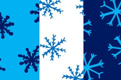 Christmas bundle with snowflakes and patterns Product Image 3