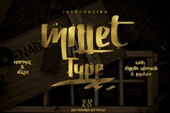 Millet Typeface Product Image 1