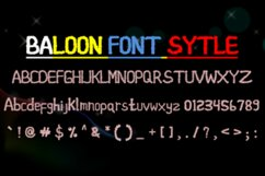 baloon font style Product Image 2