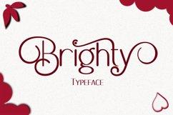 Brighty Sans Script Product Image 1
