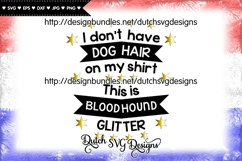 Text cutting file Dog Hair Bloodhound, bloodhound svg Product Image 1
