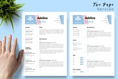Nurse Resume CV Template for Word & Pages Adeline Henry Product Image 3