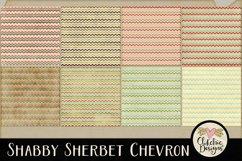 Shabby Sherbet Chevron Background Textures Product Image 2