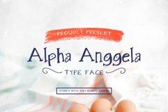 Alpha Anggela - 18 Font styles and 150 Swashes Product Image 5