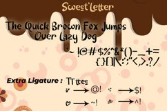 Sweet Letter Product Image 2