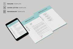 Modern Resume Template and Cover Letter. Fully editable CV Product Image 6