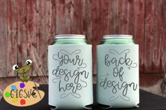 Mint Can Cooler Mockup Product Image 1