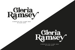 Gloria Ramsey - Two Faced Serif Product Image 4