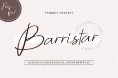 Web Font - Barristar Product Image 1