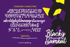 Blacky Sambat - Halloween Font Product Image 6