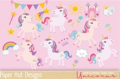 Unicorn Clipart Product Image 1