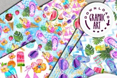 Summer Party Seamless Pattern Product Image 3
