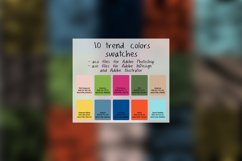 Seamless pattern color trends 2017 Product Image 5