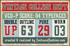 Vintage College Dept_Worn Product Image 4