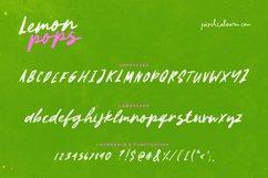 Lemon Pops Hand Drawn Script Font Product Image 5