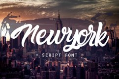 newyork script font Product Image 6